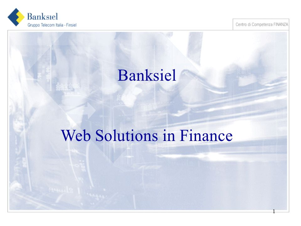 1 Banksiel Web Solutions in Finance