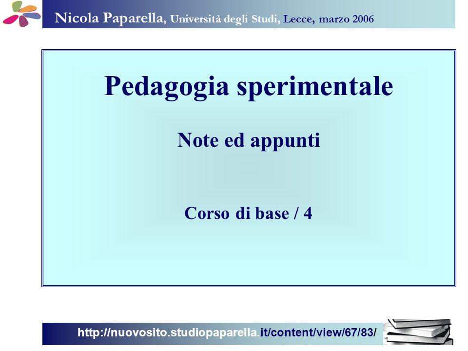 Nicola Paparella, Università degli Studi, Lecce, marzo 2006 http://nuovosito.studiopaparella.it/content/view/67/83/ Sommario Proprietà Variabili Problemi di validità