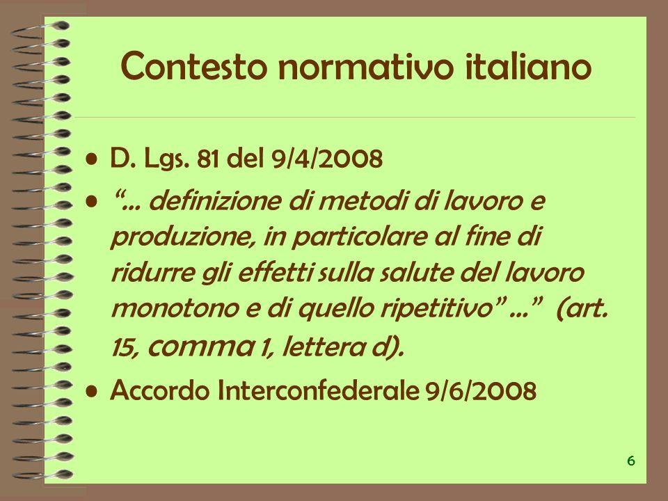 D.Lgs. 106 del 3/8/2009 Integra art.