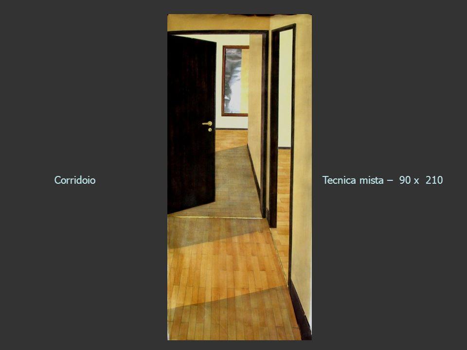 CorridoioTecnica mista – 90 x 210