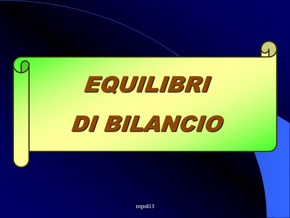 ropol13 EQUILIBRI DI BILANCIO