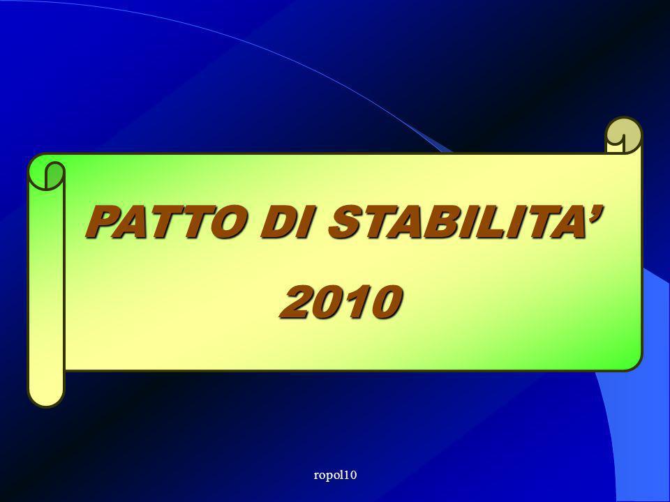 ropol10 PATTO DI STABILITA 2010