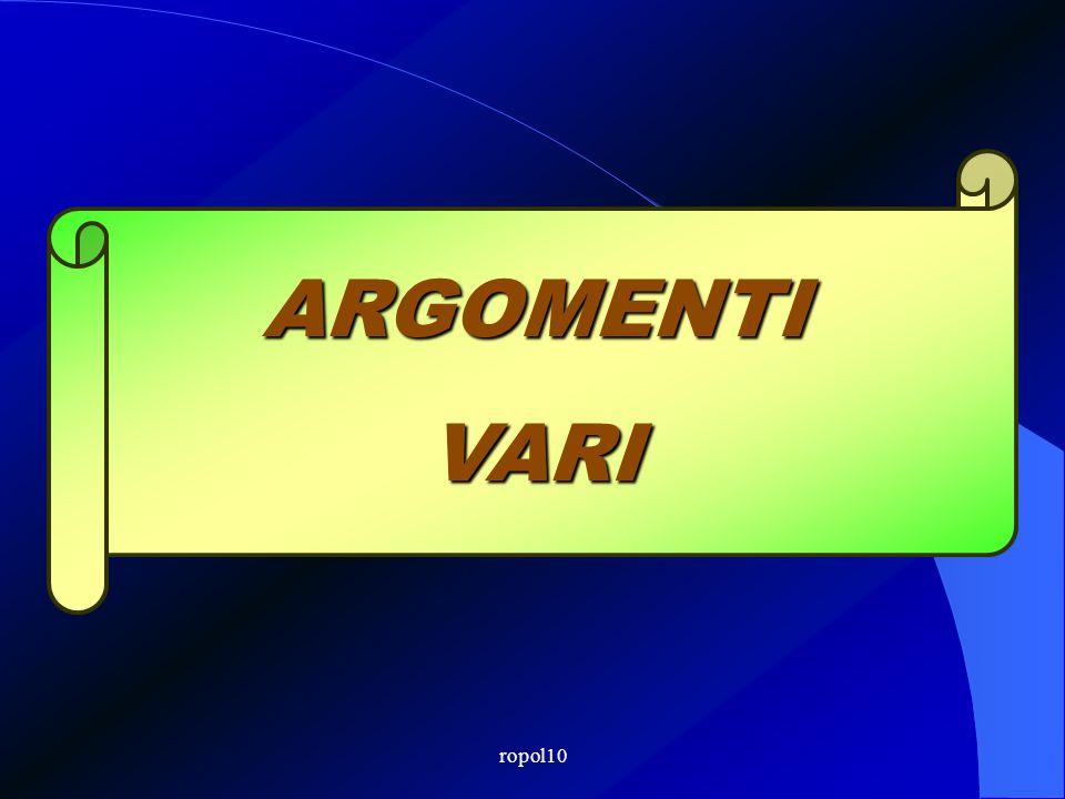 ropol10 DL 78/2010 – legge 122 La bozza di D.Mininterno, assentita dalla Conferenza SCAL, prevede, per tre anni da entrata in vigore del Decreto: (art