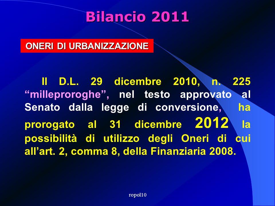 FINANZIARIA 2008 Per gli anni 2008, 2009 e 2010, i contributi concessori possono essere destinati al finanziamento di spese correnti per una quota non