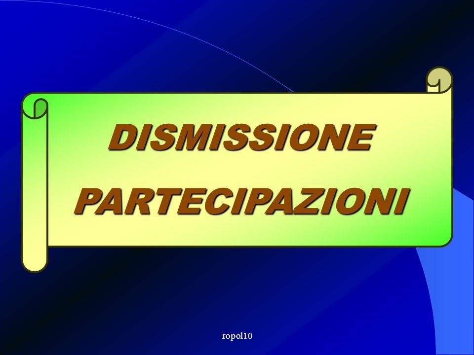 ropol10 Bilancio 2011 Il D.L. 29 dicembre 2010, n. 225 milleproroghe, nel testo approvato al Senato dalla legge di conversione, ha prorogato al 31 dic