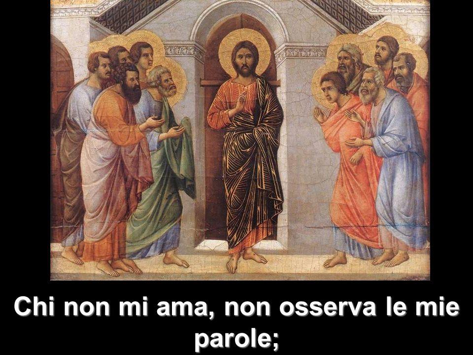 e la parola che voi ascoltate non è mia, ma del Padre che mi ha mandato.