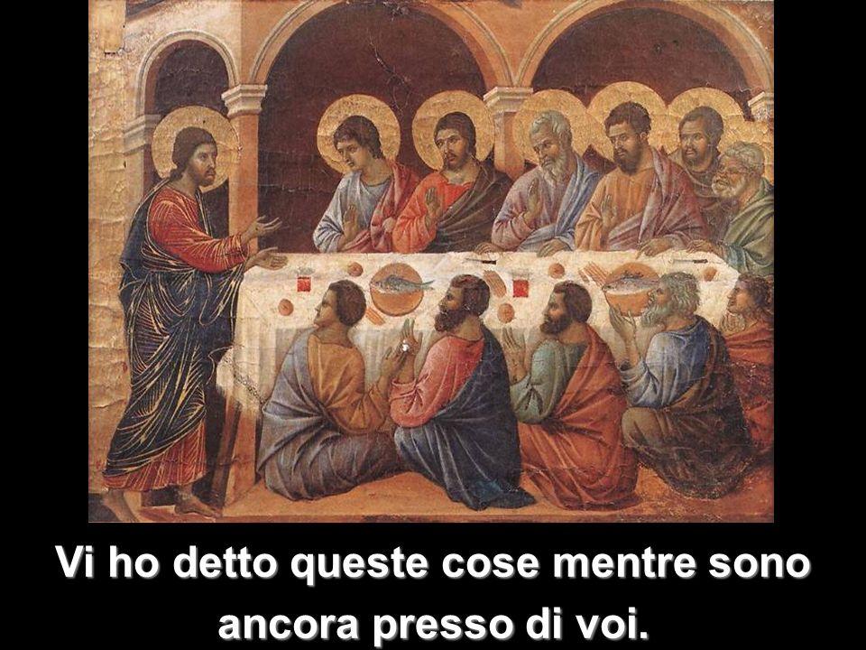 Ma il Paràclito, lo Spirito Santo che il Padre manderà nel mio nome,