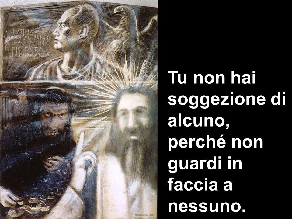 Dunque, di a noi il tuo parere: è lecito, o no, pagare il tributo a Cesare?».
