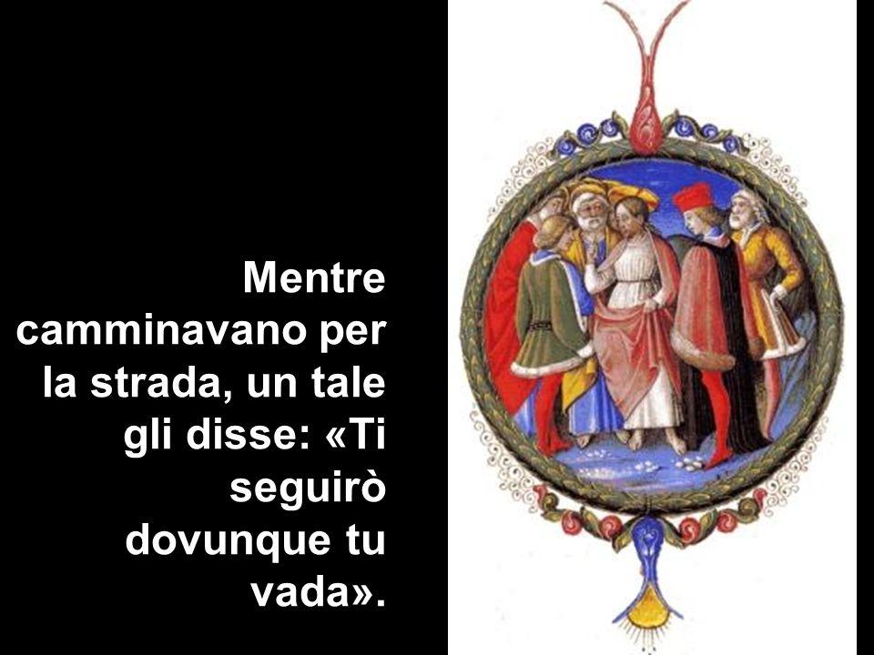 E Gesù gli rispose: «Le volpi hanno le loro tane e gli uccelli del cielo i loro nidi, ma il Figlio delluomo non ha dove posare il capo».