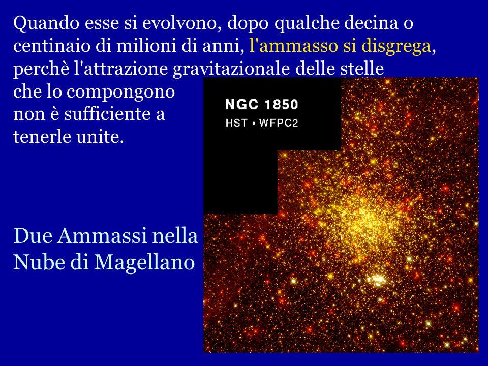 AMMASSI APERTI M45 Ammasso aperto delle Pleiadi nella costellazione del Toro Gli ammassi aperti sono insiemi di qualche centinaio o migliaio di stelle