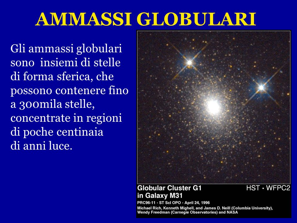 Quando esse si evolvono, dopo qualche decina o centinaio di milioni di anni, l'ammasso si disgrega, perchè l'attrazione gravitazionale delle stelle ch
