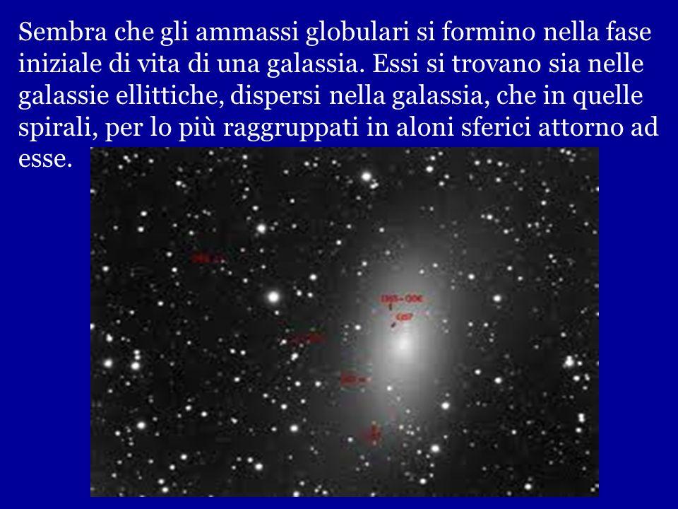 Dato il gran numero di stelle che racchiudono, si tratta di formazioni stabili, gravitazionalmente legate, a differenza degli ammassi aperti. Ammasso