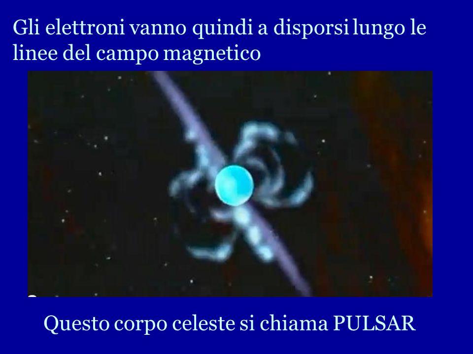 La velocità di tali stelle è di centinaia di volte al secondo e hanno un campo magnetico estremamente elevato