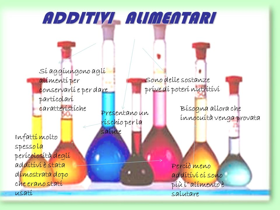Conservanti chimici artificiali antiossidanti sono Acido citrico, acido tartarico…… impediscono Lossidazione dei prodotti cioè La reazione chimica del