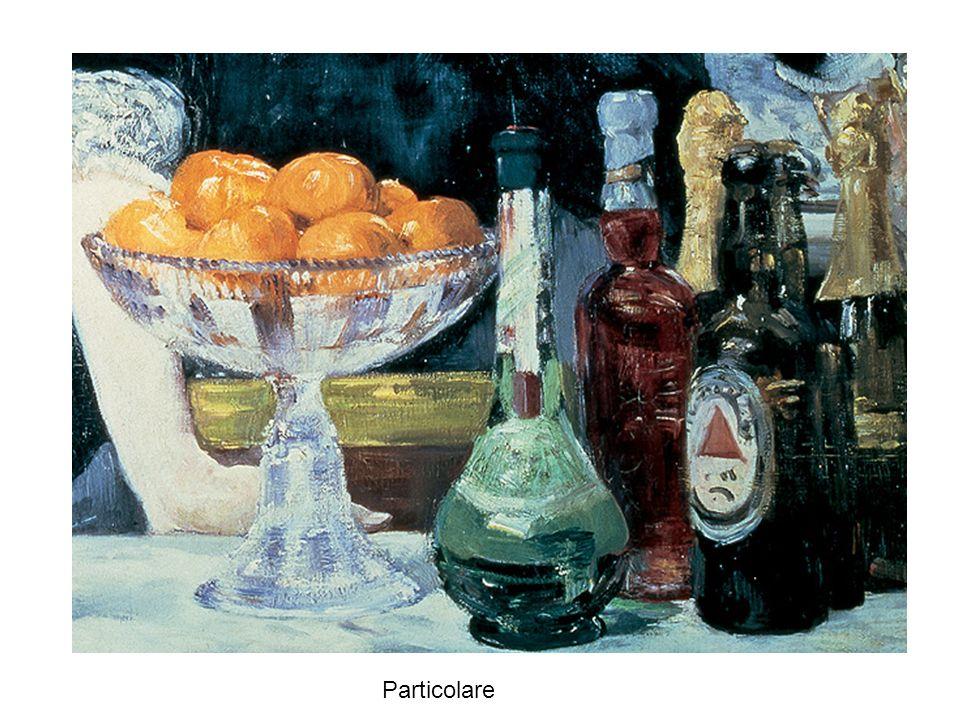 Dipinta da Renoir nel 1881, la Colazione dei canottieri ritrae un gruppo di amici riuniti in un caffè lungo le sponde della Senna, vicino a Parigi; la sapiente alternanza di zone di luce e di ombra rendono la freschezza di un impressione fugace catturata e fissata sulla tela in pochi istanti.