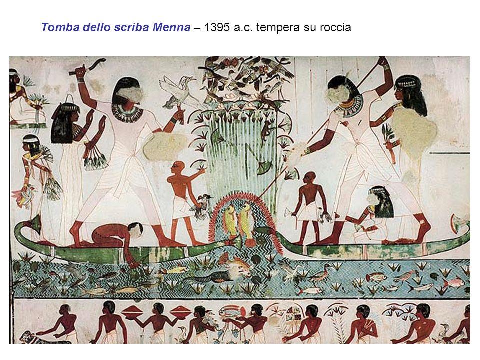 Tomba dello scriba Menna – 1395 a.c. tempera su roccia