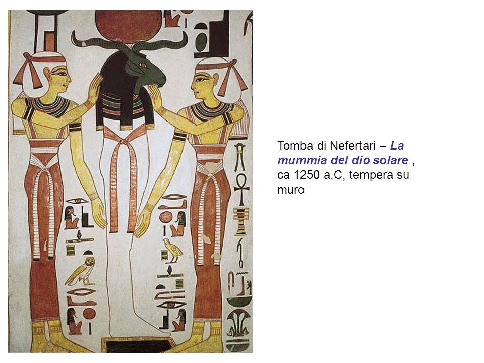 Tomba di Nefertari – La mummia del dio solare, ca 1250 a.C, tempera su muro