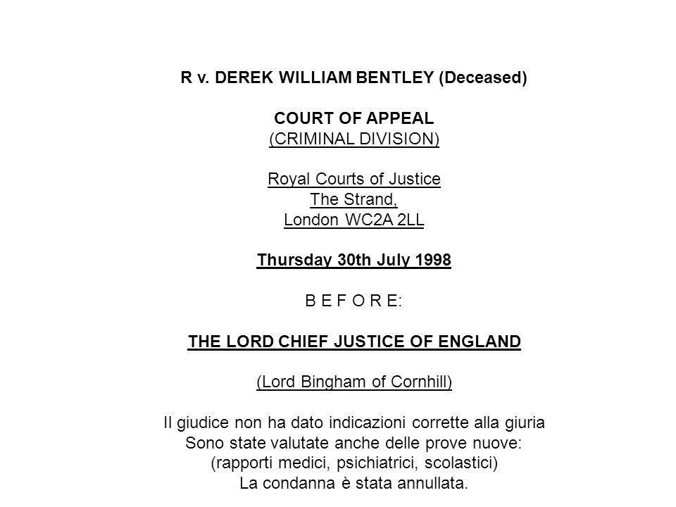 Raccomandazione 1246 (1994) dellAssemblea Parlamentare del Consiglio dEuropa sulla abolizione della pena capitale 4.