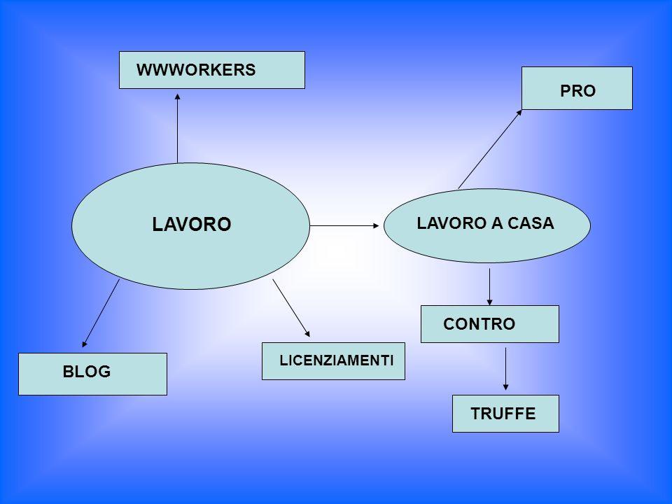 LAVORO WWWORKERS BLOG LAVORO A CASA PRO CONTRO TRUFFE LICENZIAMENTI