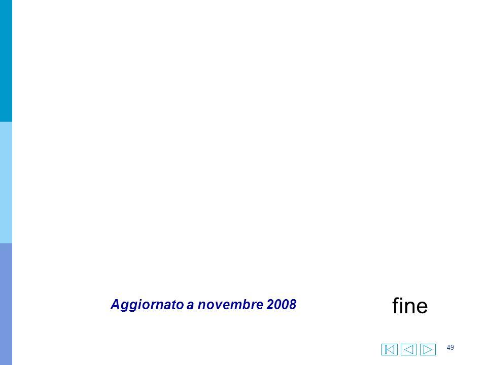 49 fine Aggiornato a novembre 2008