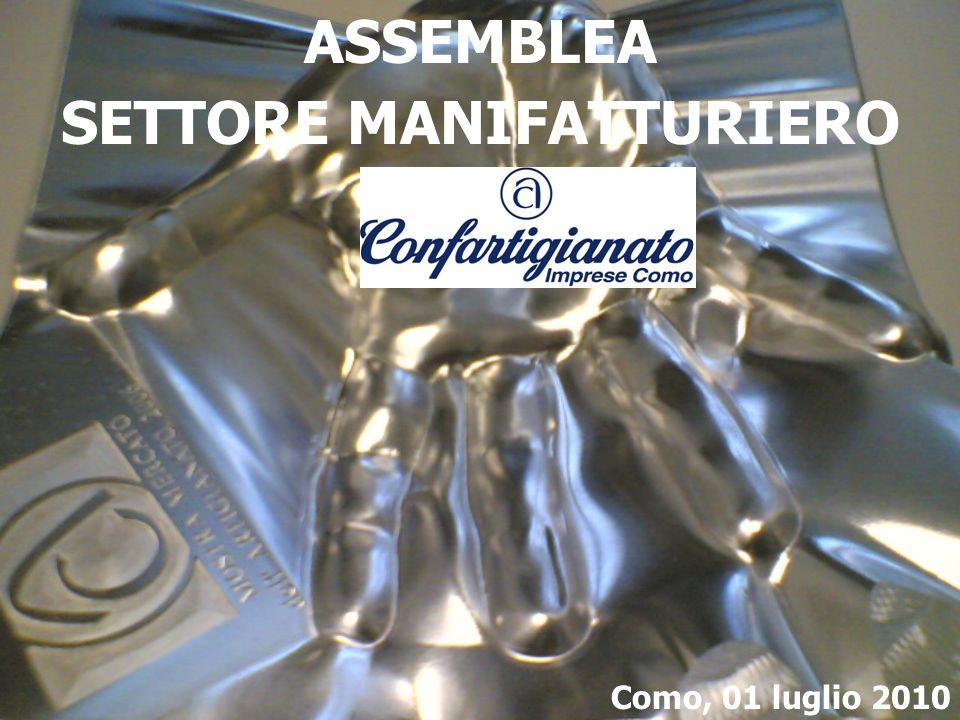 ASSEMBLEA SETTORE MANIFATTURIERO Como, 01 luglio 2010