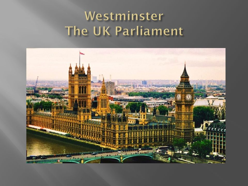 The basic principle of the UK constitution is the sovereignty of Parliament.