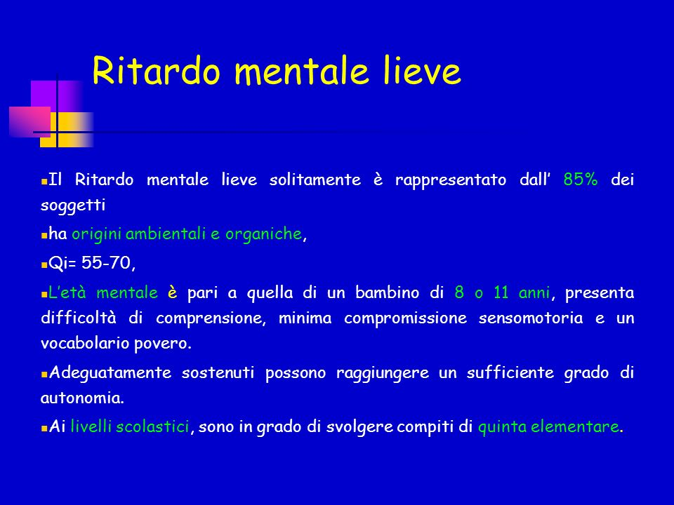 BIBLIOGRAFIA RITARDO MENTALE, P.Pfanner, M.