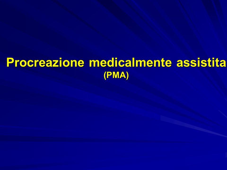 Procreazione medicalmente assistita (PMA)