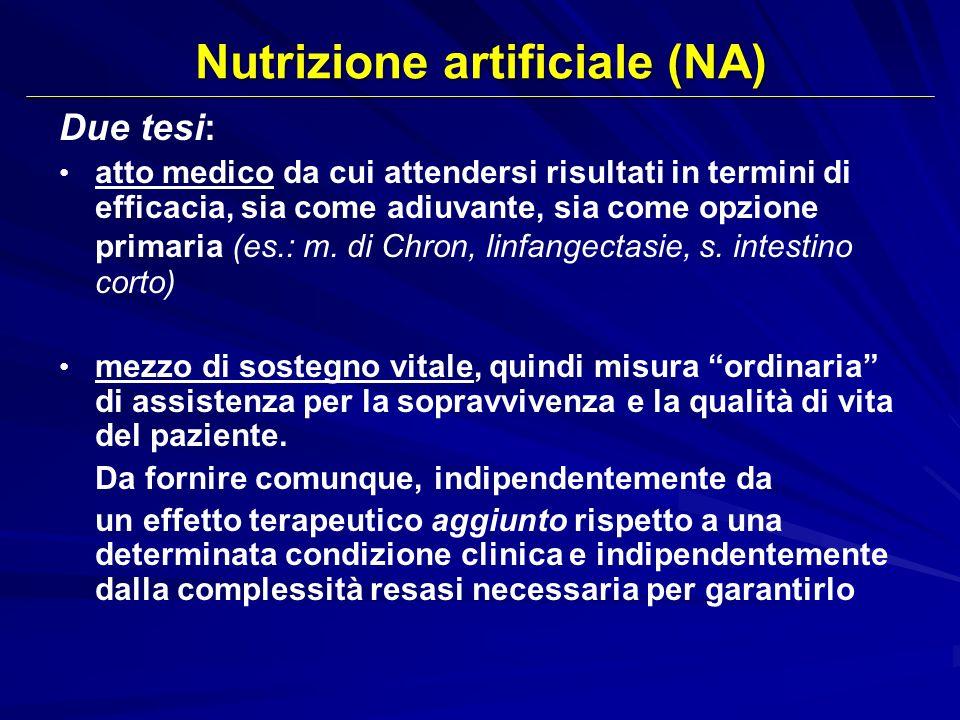 Due tesi: atto medico da cui attendersi risultati in termini di efficacia, sia come adiuvante, sia come opzione primaria (es.: m. di Chron, linfangect