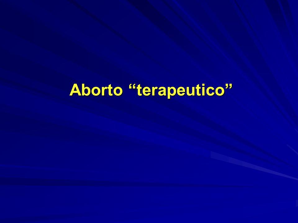 Aborto terapeutico