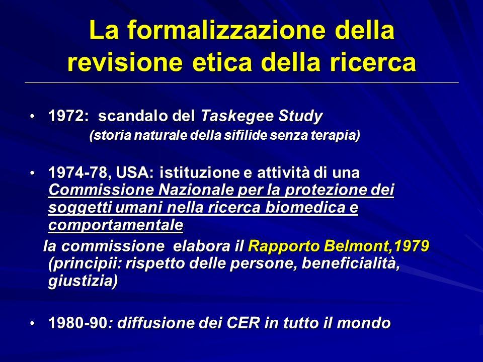 1972: scandalo del Taskegee Study 1972: scandalo del Taskegee Study (storia naturale della sifilide senza terapia) (storia naturale della sifilide sen