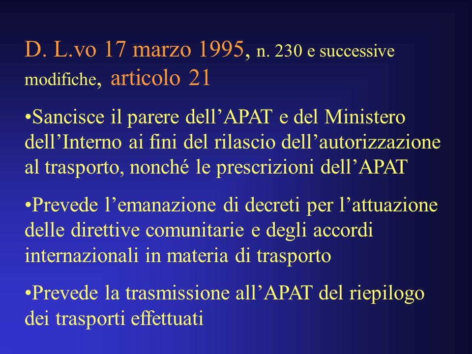 D.L.vo 17 marzo 1995, n.