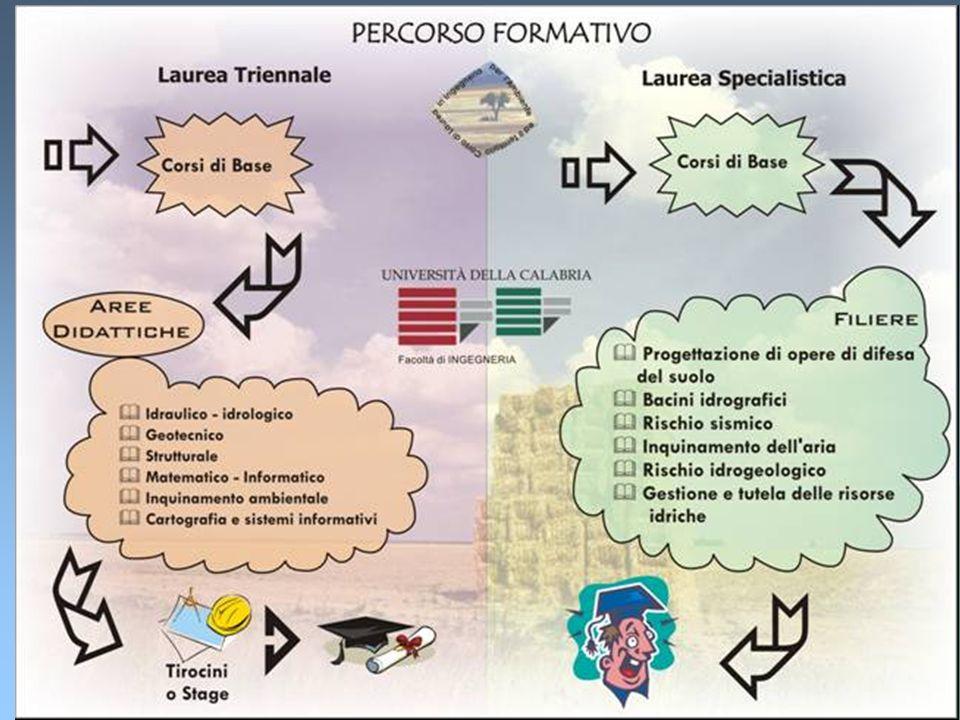 2 Corso di Laurea in Ingegneria per lAmbiente e il Territorio Università della Calabria Facoltà di Ingegneria