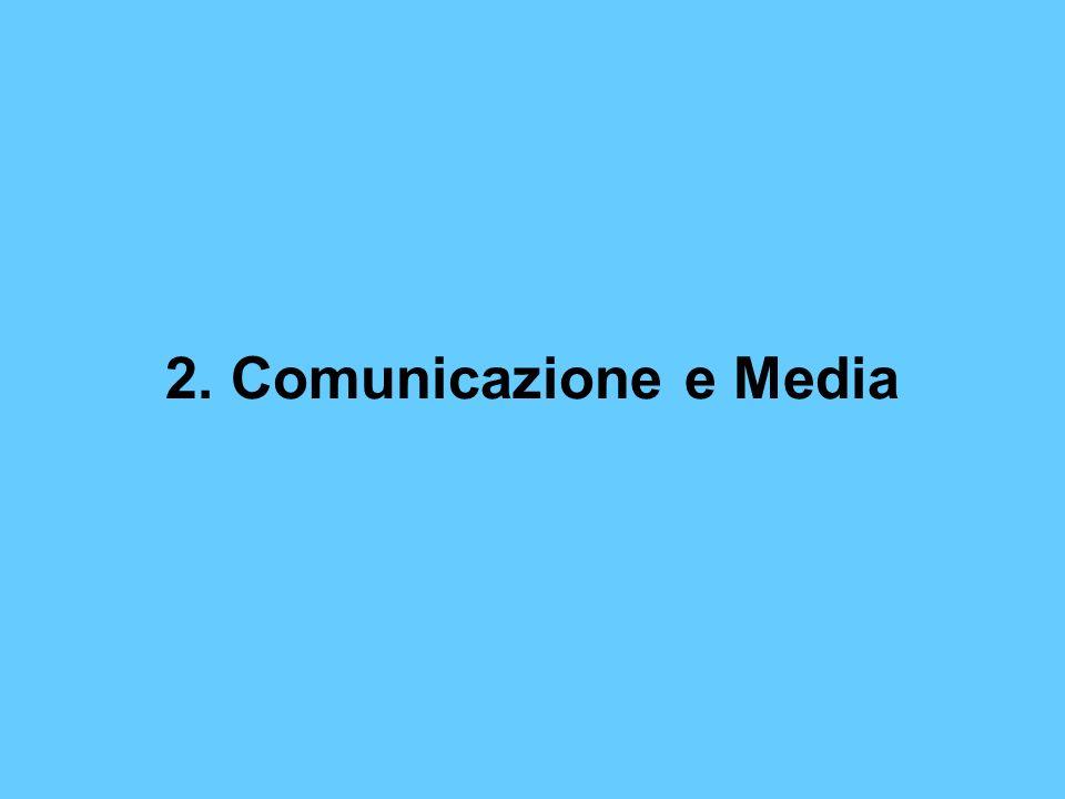 2. Comunicazione e Media