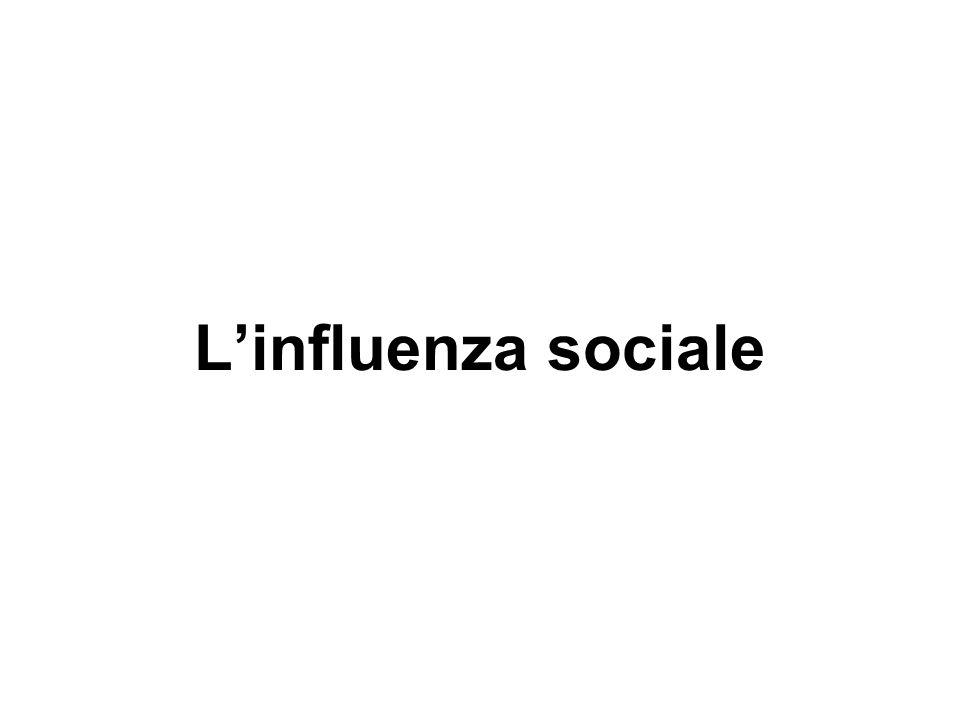 Linfluenza sociale