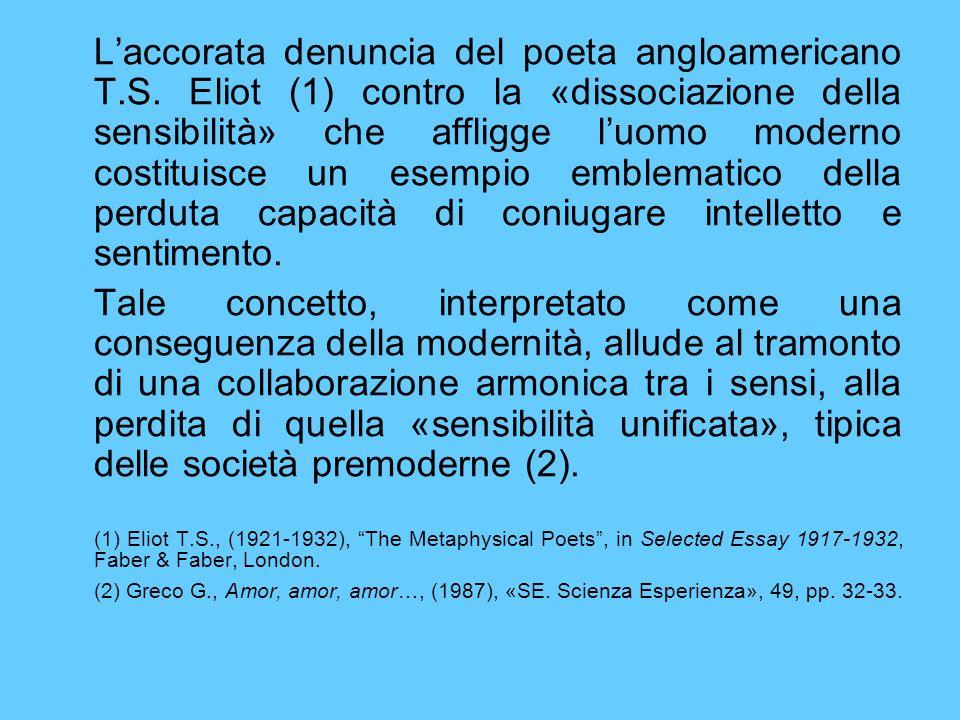 Laccorata denuncia del poeta angloamericano T.S.