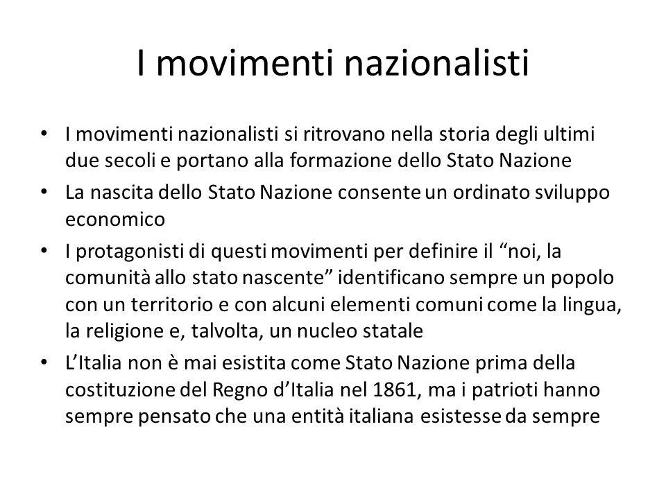 Tutti i movimenti nazionalistici rifanno la storia del proprio paese in parte studiando con cura il passato, in parte inventandolo o deformandolo.