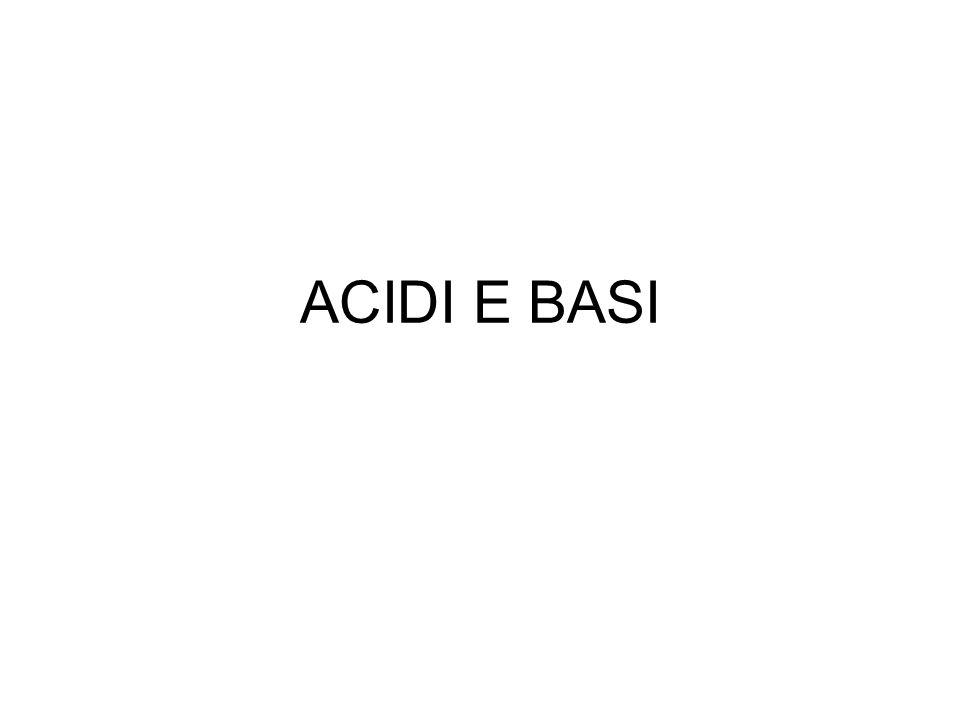 Da dove derivano i loro nomi.Il nome acido viene dal latino acidum che significa aspro, pungente.