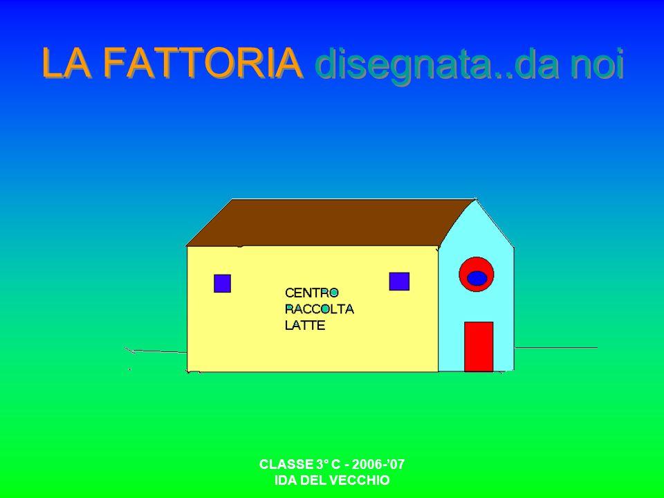 CLASSE 3° C - 2006-07 IDA DEL VECCHIO LA FATTORIA disegnata..da noi