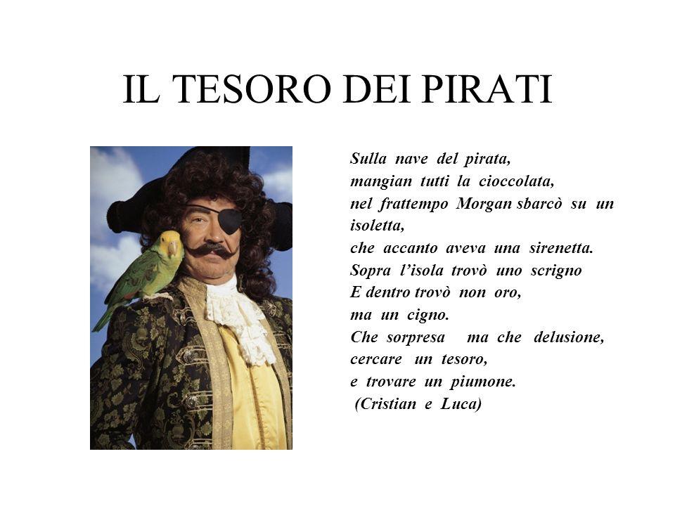 IL TESORO DEI PIRATI Sulla nave del pirata, mangian tutti la cioccolata, nel frattempo Morgan sbarcò su un isoletta, che accanto aveva una sirenetta.