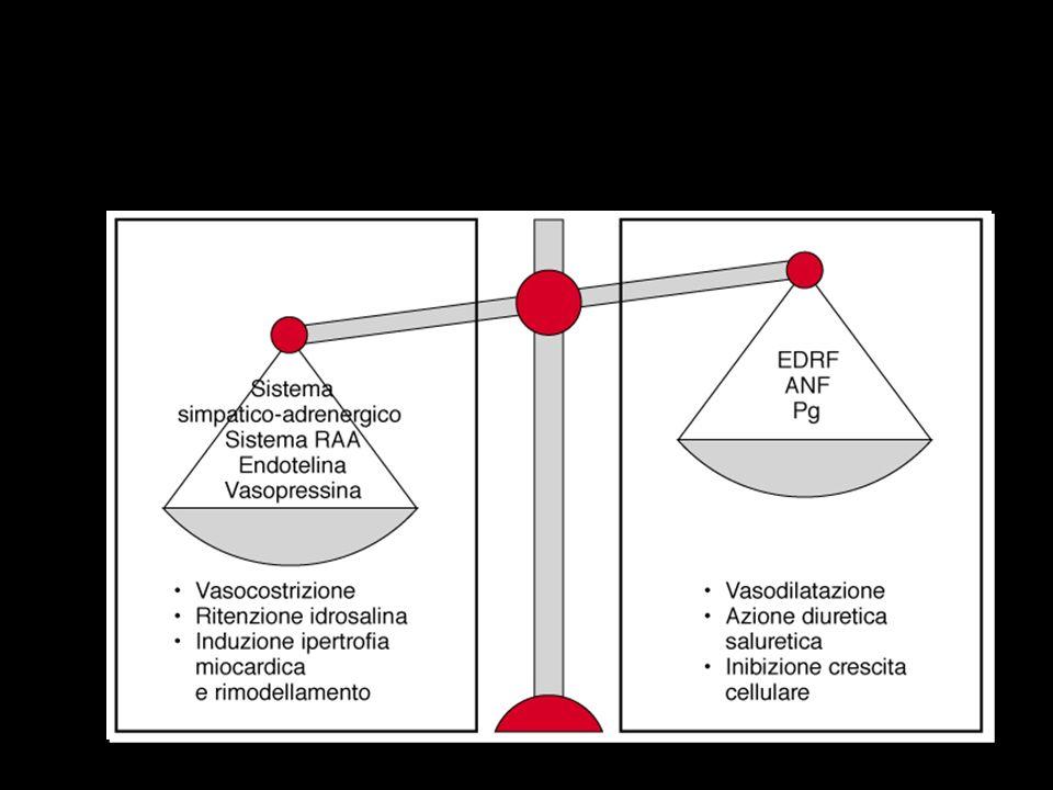 FASI EVOLUTIVE DELLA INSUFFICIENZA CARDIACA EVENTO INDICE Danno miocardico Mutazione genetica Miocardico ipertrofia necrosi fibrosi apoptosi perdita recettori Cavitario dilatazione aumento sfericità asincronia discinesia/ aneurisma distorsione valvola mitrale Elettrico aritmie/disturbi di conduzione SINDROME CLINICA insufficienza cardiaca completa MORTE IMPROVVISA INASPETTATA ADATTAMENTO NEURO- ENDOCRINO RIMODELLAMENTO