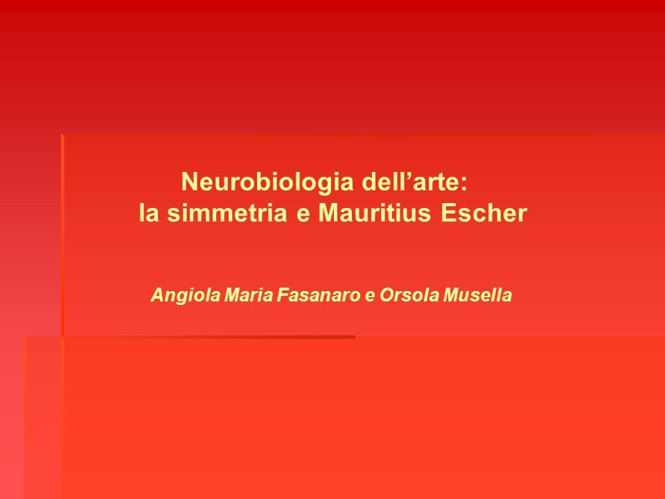 Angiola Maria Fasanaro e Orsola Musella Neurobiologia dellarte: la simmetria e Mauritius Escher