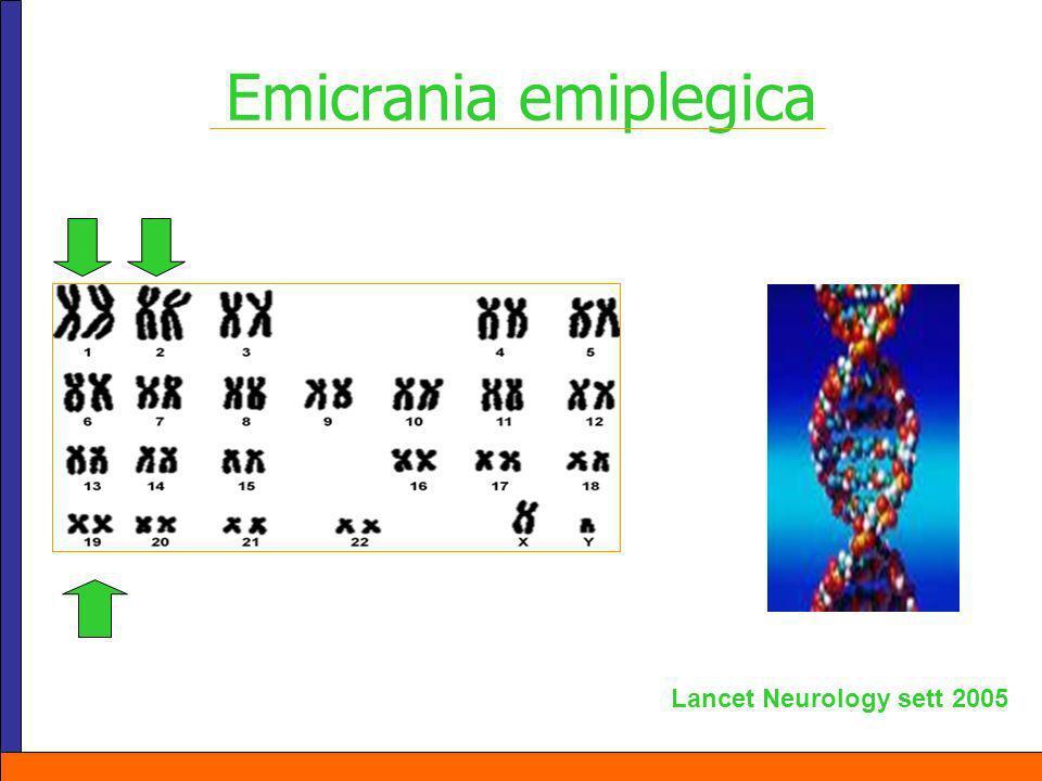 Emicrania emiplegica Lancet Neurology sett 2005