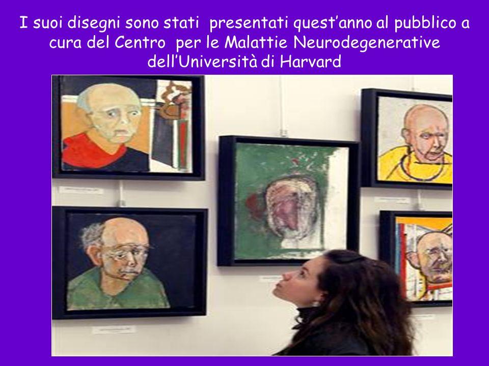 Un anno prima della fine I suoi disegni sono stati presentati questanno al pubblico a cura del Centro per le Malattie Neurodegenerative dellUniversità