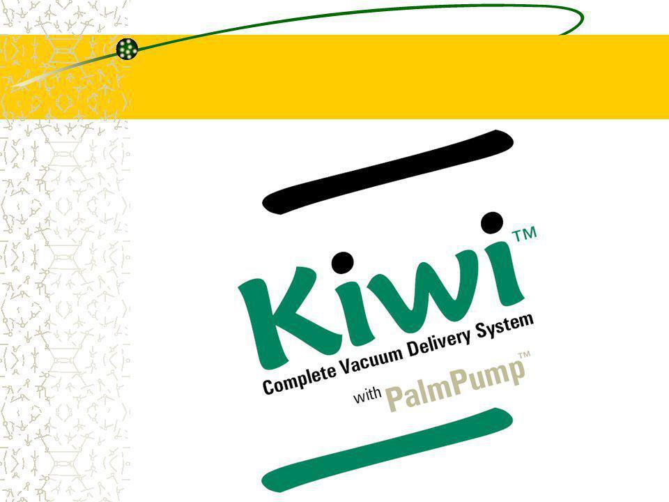 KIWI Complete Vacuum delivery System Può essere considerato una valida alternativa alla ventosa in acciaio o in silastic, progettato per essere usato senza lausilio di assistenti.
