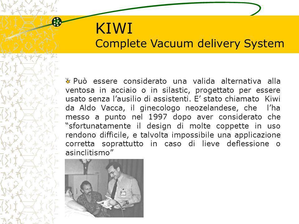 KIWI Complete Vacuum delivery System Questo dispositivo incorpora: Il PALM PUMP.