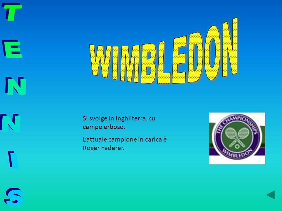 Si svolge in Inghilterra, su campo erboso. Lattuale campione in carica è Roger Federer.