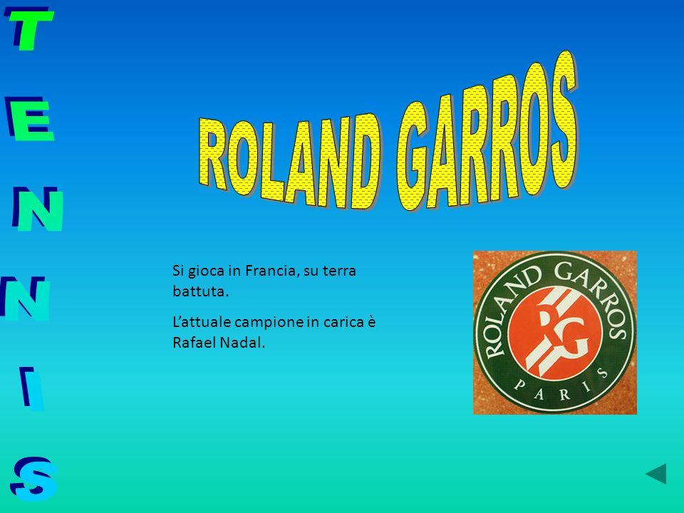 Si gioca in Francia, su terra battuta. Lattuale campione in carica è Rafael Nadal.