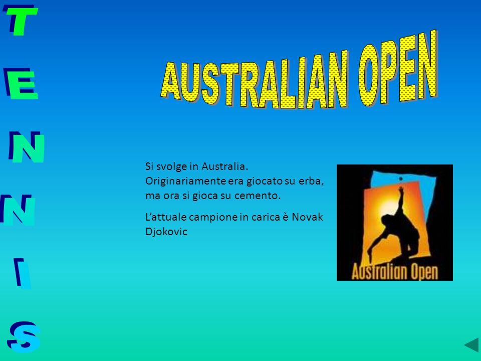 Si svolge in Australia. Originariamente era giocato su erba, ma ora si gioca su cemento. Lattuale campione in carica è Novak Djokovic