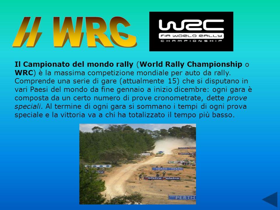 Il Campionato del mondo rally (World Rally Championship o WRC) è la massima competizione mondiale per auto da rally. Comprende una serie di gare (attu
